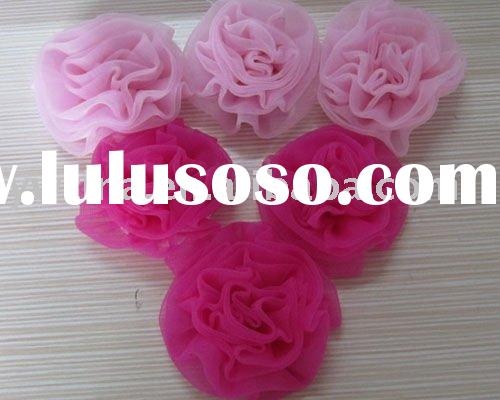 Fashion! Pink and Hot Pink flowers for shoes/clothes/hair accessories