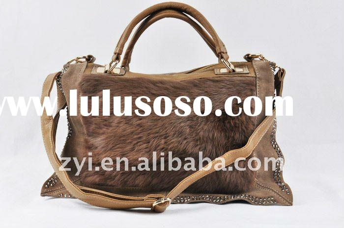 Fashion ladies bags handbags luxury fur designer bags