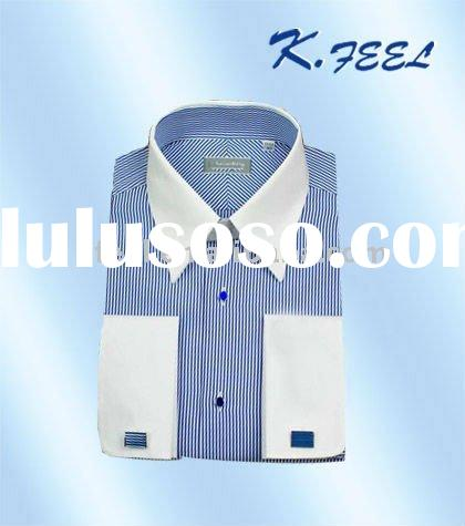 Fashion men's stripe dress shirt