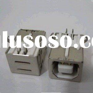 Female USB Connector PCB Mount Socket