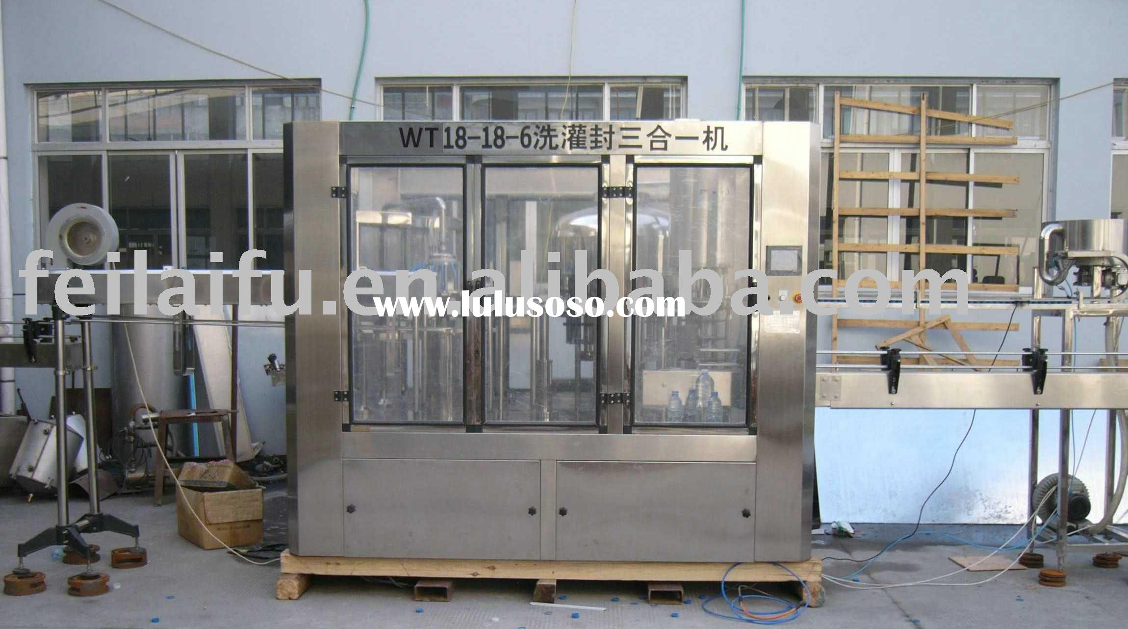 Filling And Sealing Machine(Washing Filling Capping)