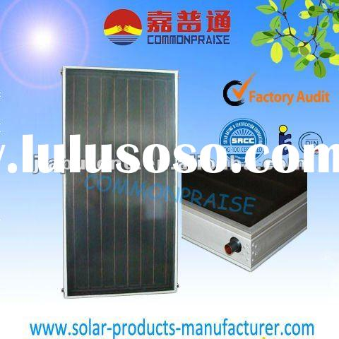 Flat-panel Pressurized solar thermal collector using laser welding machine for solar water heater us