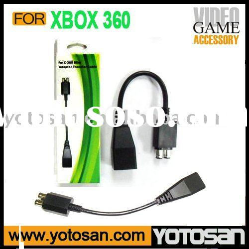 For XBOX360 Adaptor Transfer converter cable to xbox 360 slim Ac adapter Power Conversion Cable for