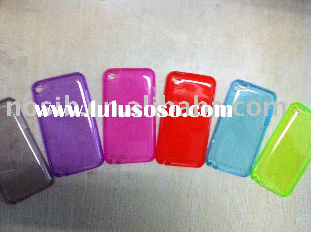 For ipod touch 4 tpu case