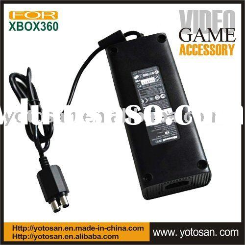 For xbox360 slim power supply AC adapter adaptor (220V, 110V)