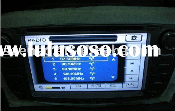 Ford Focus dvd player with auto gps navigation car radio stereo system