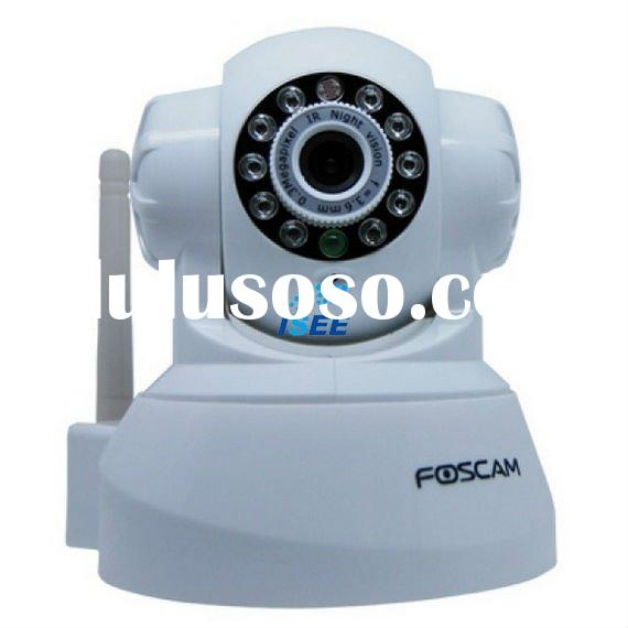 Foscam Wireless IP Camera with Pan and Tilt, 2 way Audio. Support for Windows, Apple MAC and Linux -