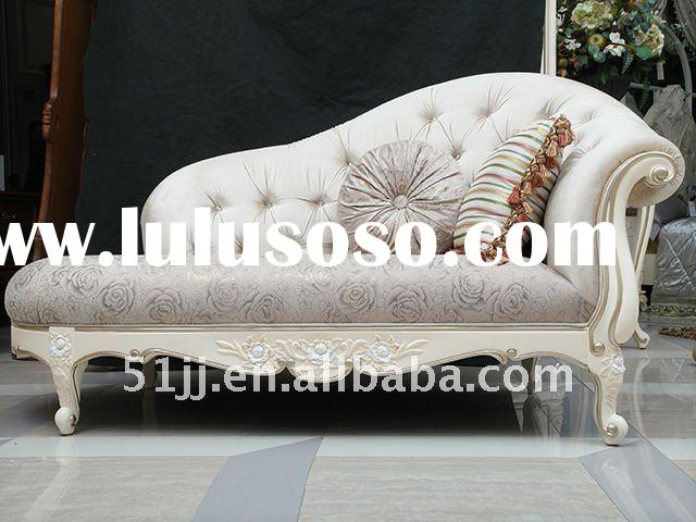 French antique style living room sets chaise lounge FH-L-8802