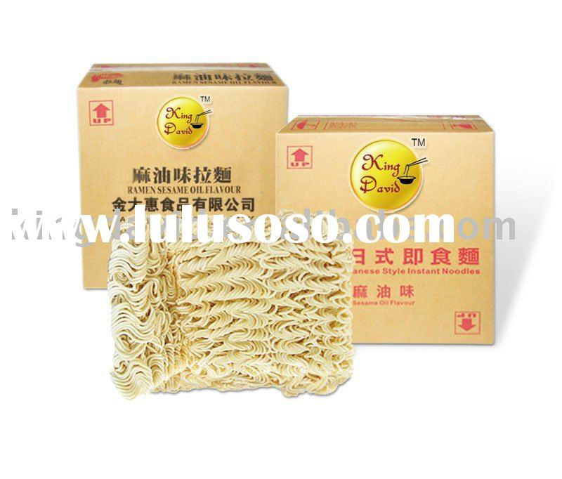 Fried Instant Cooking Noodles For Catering