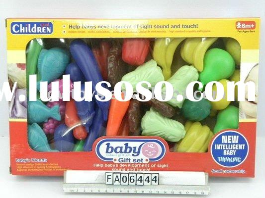 Fruits And Vegetables, Toy Food, Kids Plastic Toys