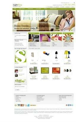 Furniture Ecommerce Website Design with Professional SEO, Facebook and Twitter Share
