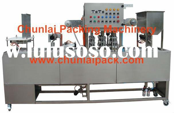 GF-4 water cup washing filling sealing machine