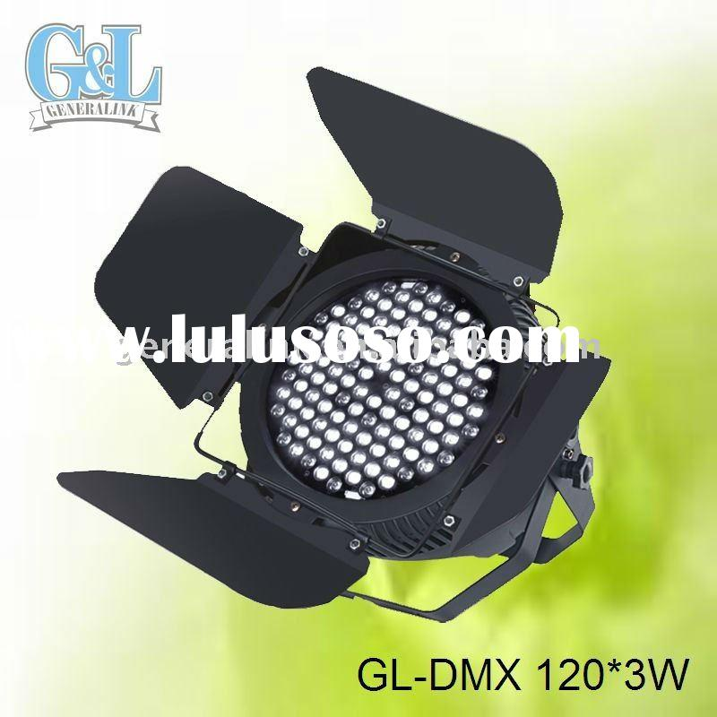 GL-DMX 120*3W DMX led studio shooting light