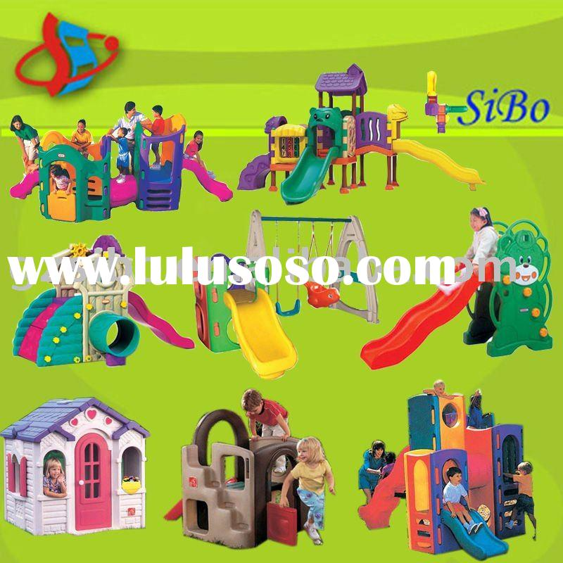 GMTL kids plastic slides,big kids playground equipment,amusement equipment