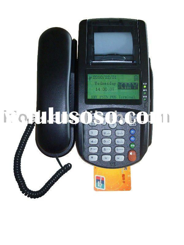 GSM POS with SIM card,smart card, RF card reader
