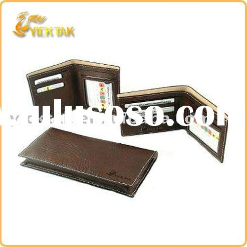 Genuine leather wallets for 2012 men's wallets new stlye