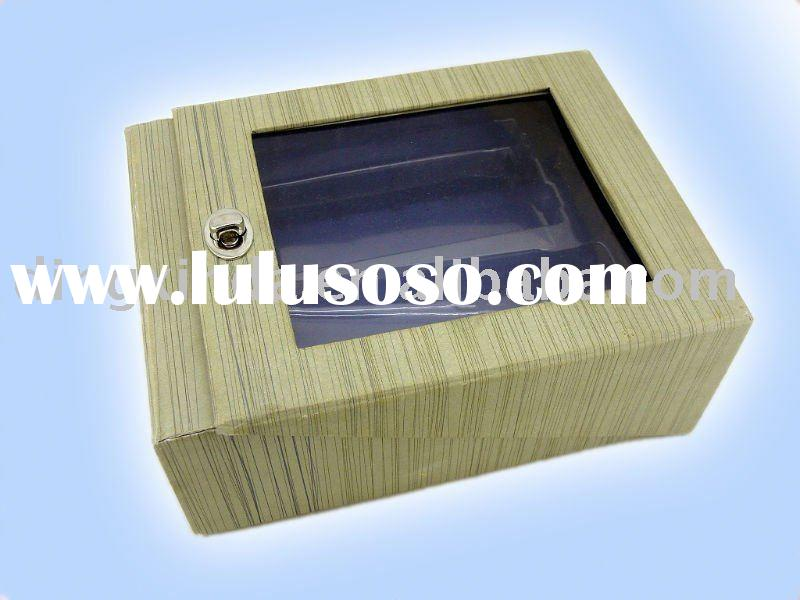 Gift box with PVC window