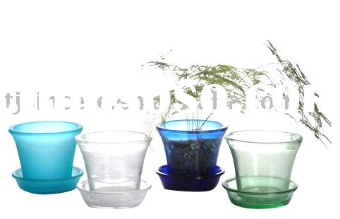 Plastic Flower Pots on Glass Flower Pot Ultimate Glass Flower Pot Colored Glass Flower Pot