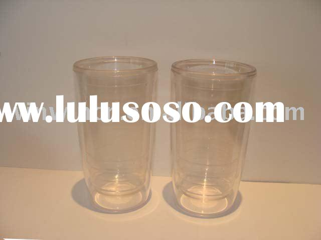 Glass-Like Double Wall Plastic Tumbler