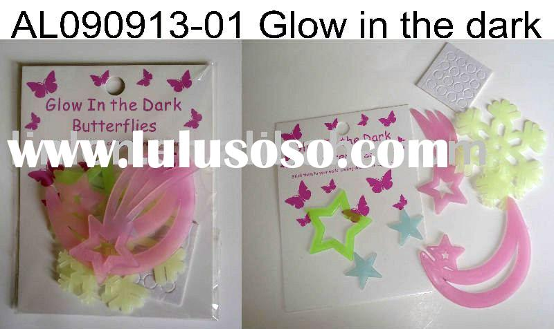 Glow in the dark product,fluorescent stars,glow in dark sticker ,promotion gift