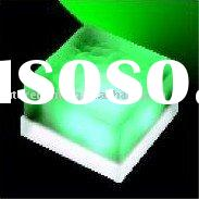 Green frosted glass Led tile lamp