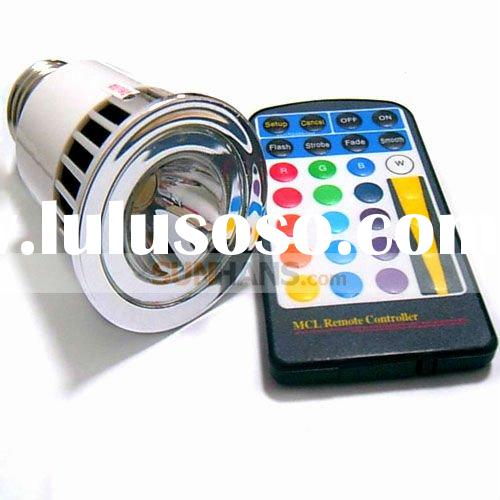 HOT!5W E27 Remote Control LED Bulb Light 16 Color Changing
