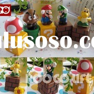 HOT figure of Super Mario 5pcs/set action figures toys gifts factory diectly
