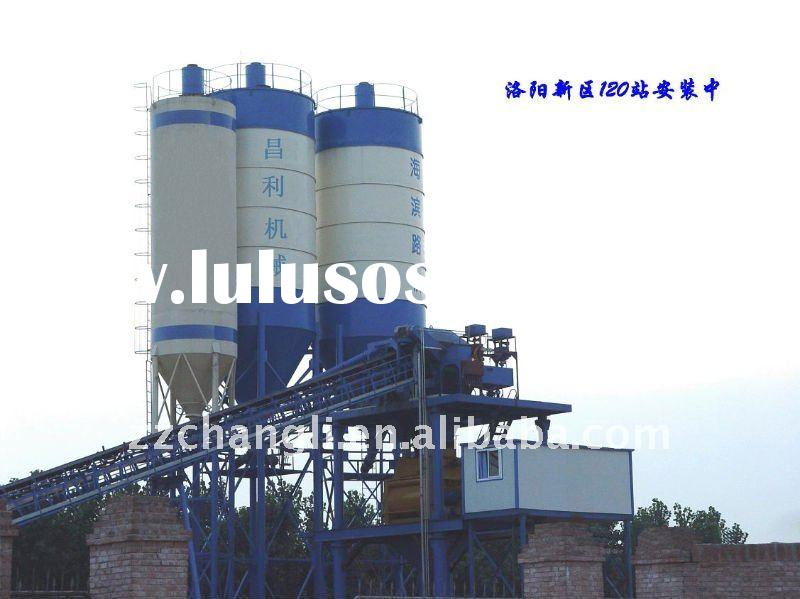 HZS90 Concrete Batching Plant,Italy SICOMA Mixer,Germany SIEMENS PLC,Mixer, Machinery, Electric Conc
