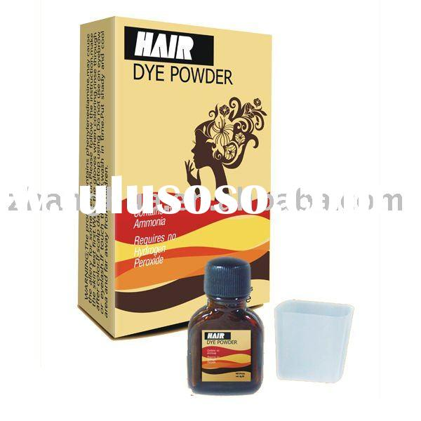 Hair dye powder