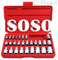 Hand tool / 28pc Star Socket Set