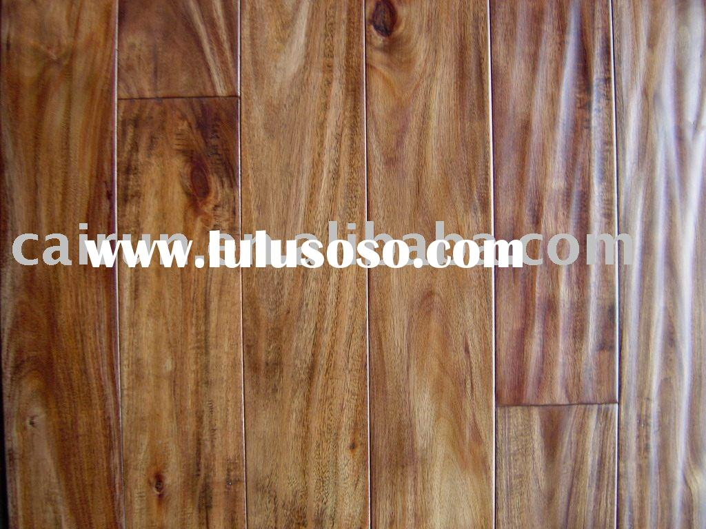 Handscraped Acacia Wood Floor/China Walnut Flooring/Asian Walnut Hardwood Flooring
