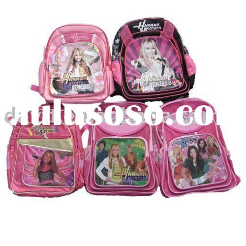 Hannah Montana school bag/kids backpack mix style on wholesale bs01