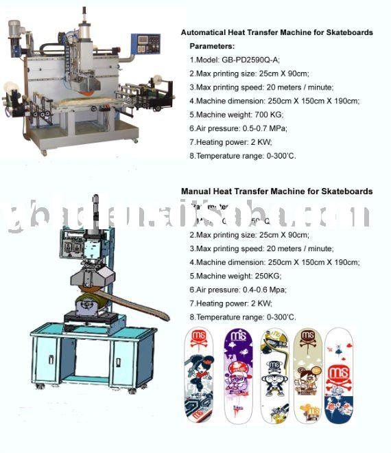 Heat Transfer Printing Machine for Skateboard