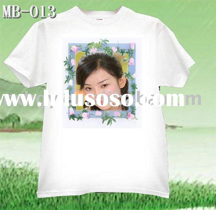 Heat Transfer /Sublimation Printed Custom Personalzied T-shirt