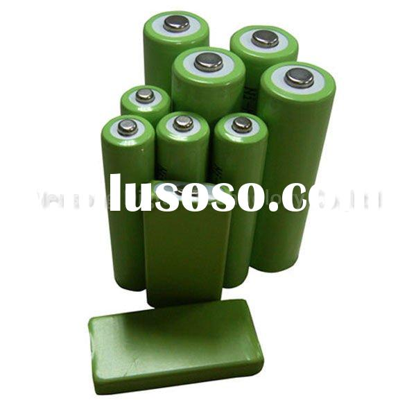 High Capacity AA and AAA Rechargeable NiMH Battery For Cunsumer Market