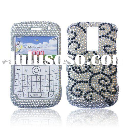 High Quality Cell Phone Crystal Case Cover Diamond For Blackberry 9000