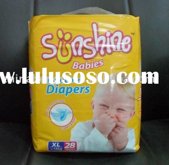 High-Top Quality & Hot Sale Baby Diaper (Sunshine Brand)