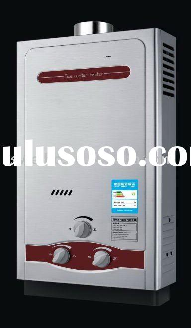 High quality/flue type/tankless/steel gas water heater