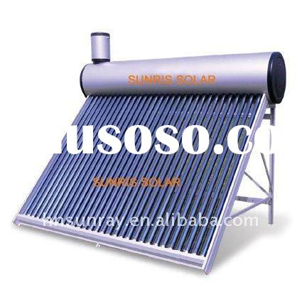 High quality home use solar water heater