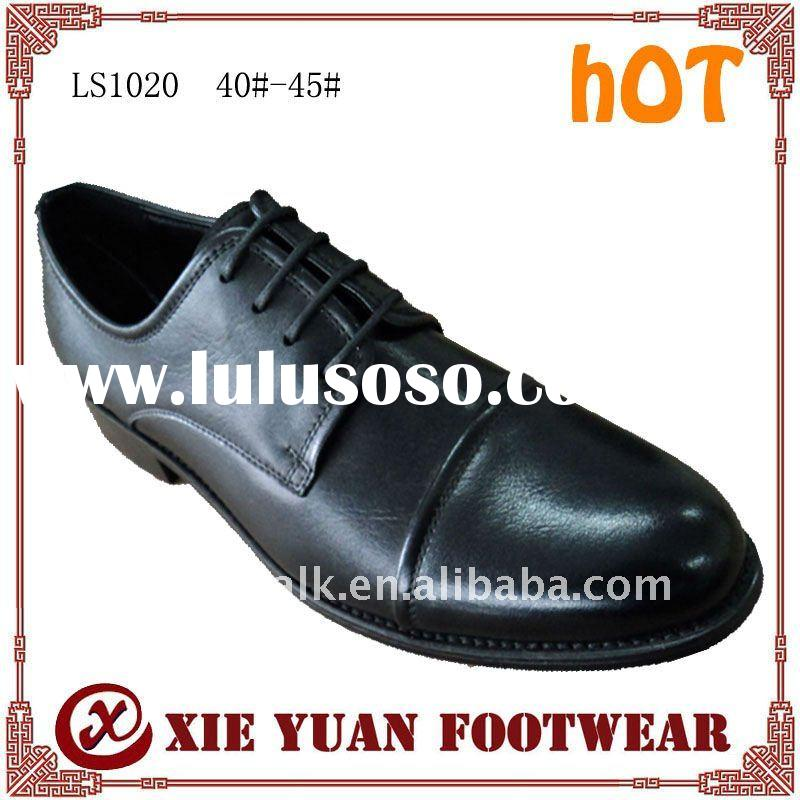 High quality men's dress leather designer shoes