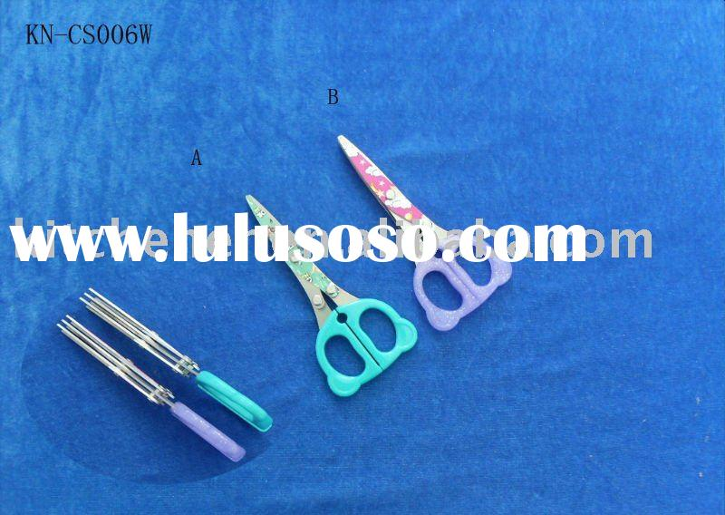 High quality multi scissors with three blades