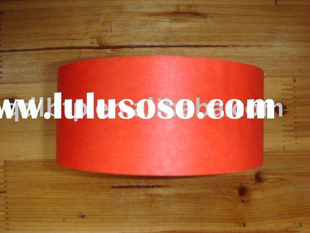 High quality red Masking tape