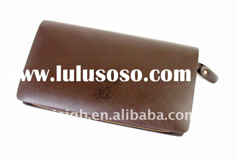 High quality top Italian genuine leather men's magic wallet