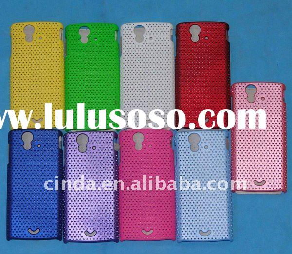 Hole Back Cover Hard Case for Sony Ericsson Xperia Ray ST18i