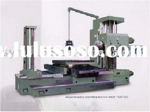 Horizontal boring and milling machine
