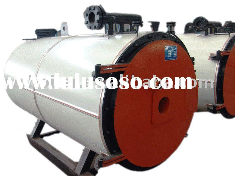 Horizontal diesel (light oil) fired thermal oil heaters