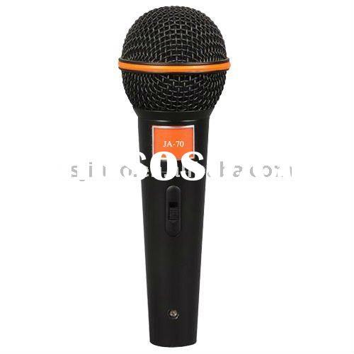 Hot Sale Handheld Dynamic Vocal Microphone JA-70