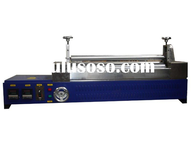 Hot melt glue applicator-dual rollers WZ-S800L
