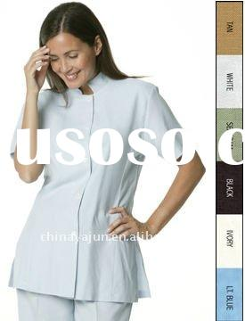 Hotel Spa Uniforms Mandarin Collar with several color