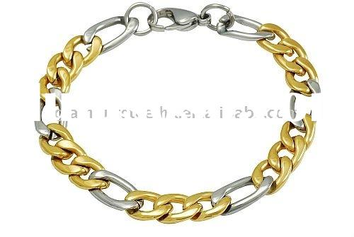 IPG newest fashion style chain and link bracelet women accessories stainless steel jewelry 2012